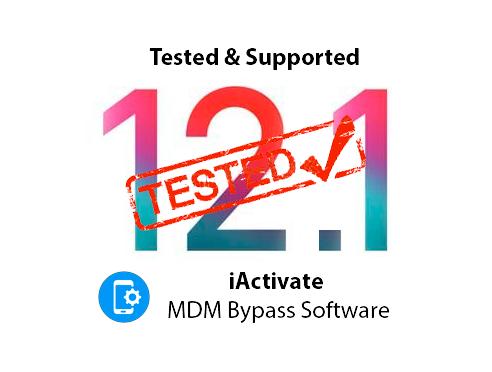 Bypass MDM iOS 12.1