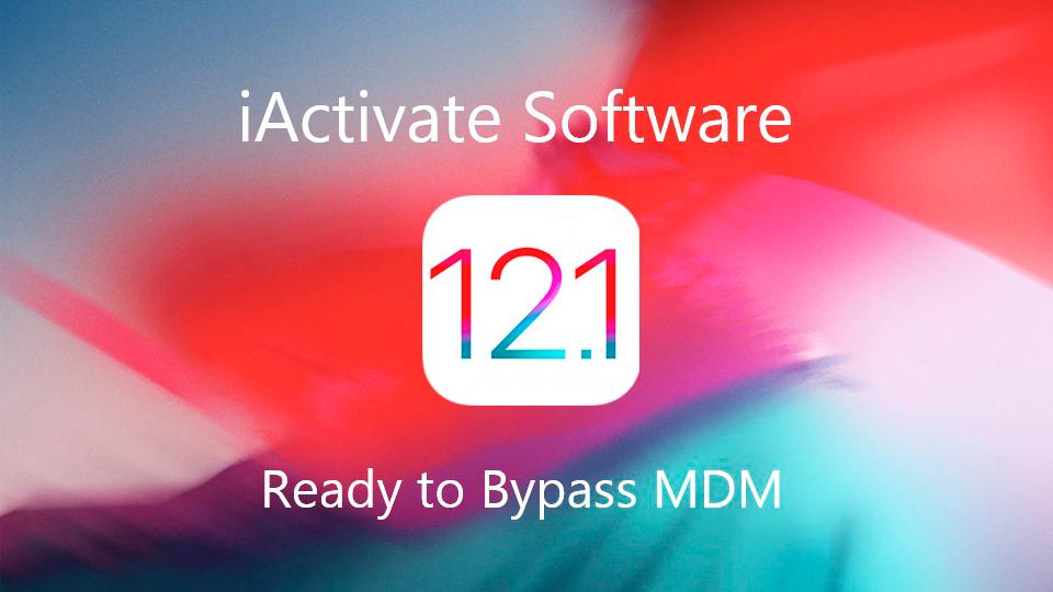 bypass MDM iOS12.1