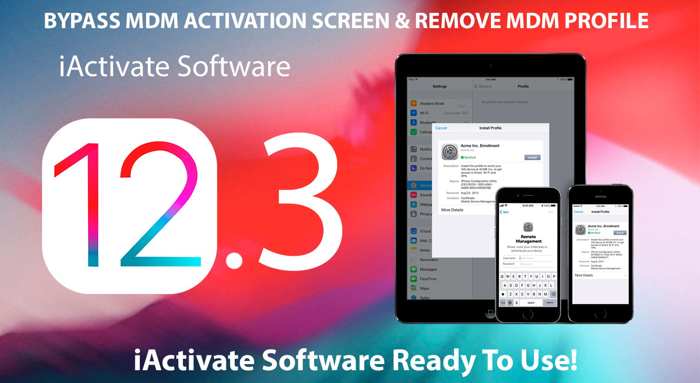 Bypass MDM | iActivate Software