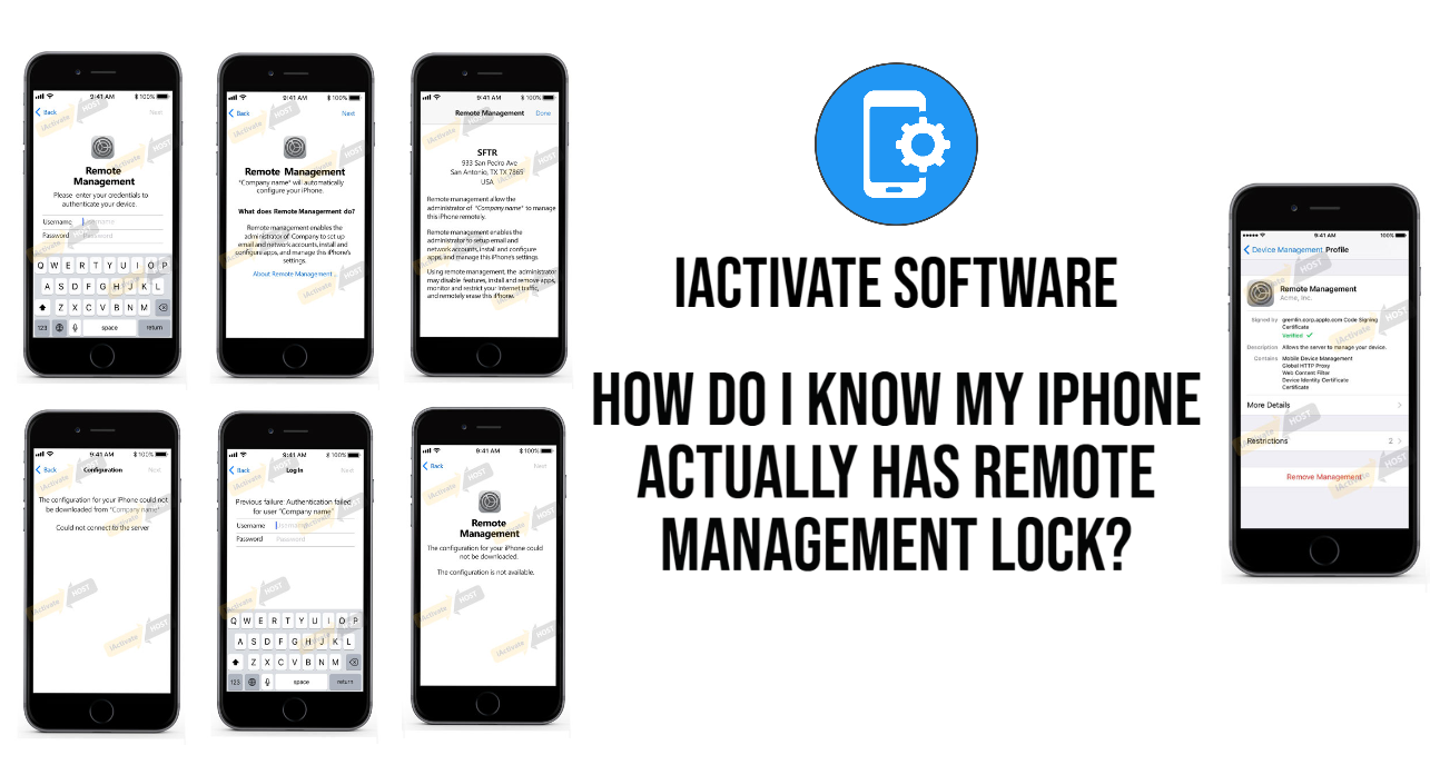 How Do I Know My iPhone Actually has Remote Management Lock?
