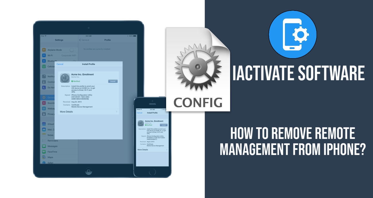 How to Remove Remote Management from iPhone?