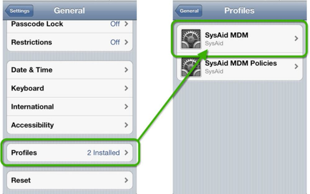 2 Ways to Remove iOS Configuration Profiles from iPhone and