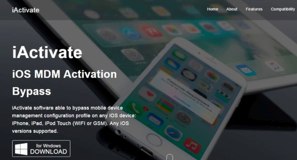 iPhone MDM Profile Bypass Tool for AppTec360