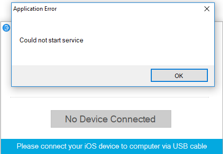 This iPad / iPhone is supervised by another computer and cannot be used with this computer.