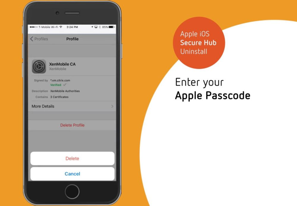 Citrix XenMobile MDM Solution for iPhone and Profile Bypass Guide