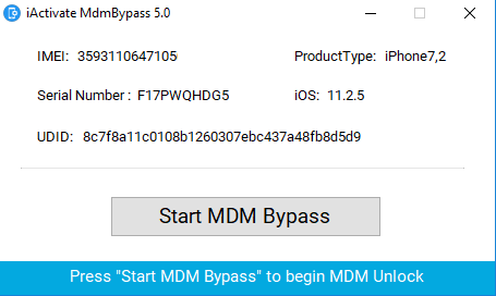 iactivate 5.0 bypass MDM software