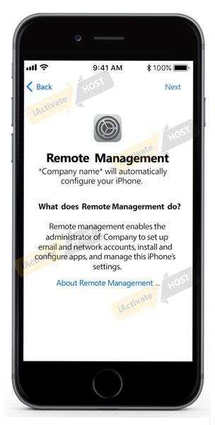 Example Of Iphone Amp Ipad Mdm Lock Screen Iactivate