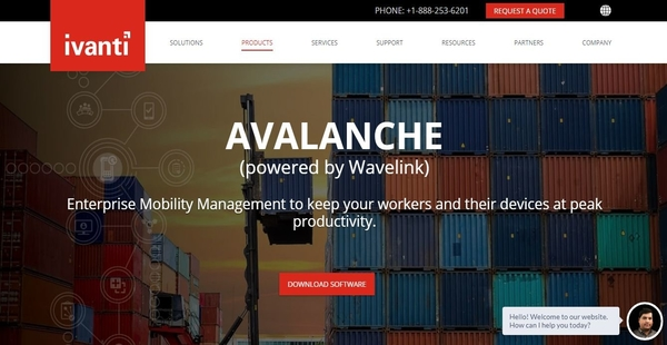 Avalanche Mobility Center MDM Software Overview