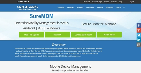 SureMDM Software Overview