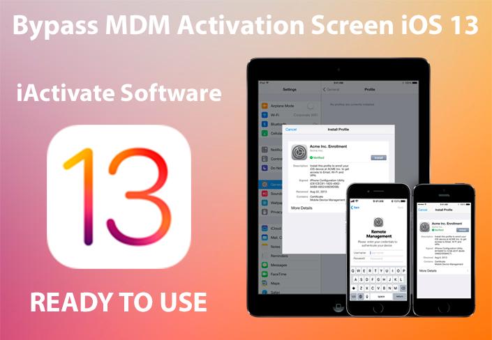 Bypadd MDM iOS 13