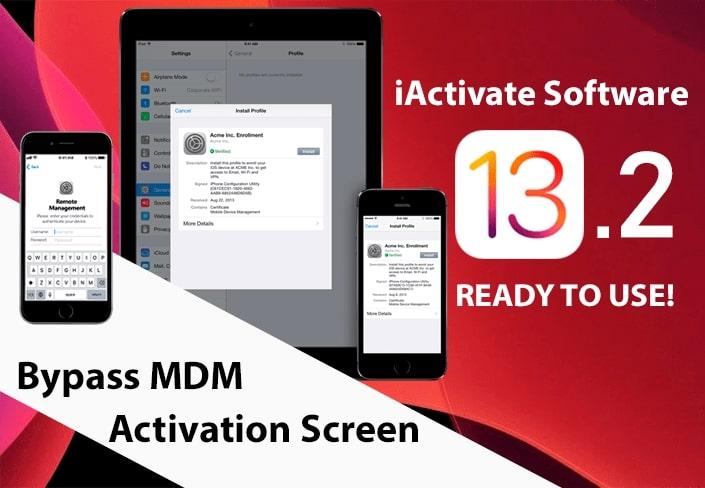 Bypass MDM lock screen on iOS 13.2
