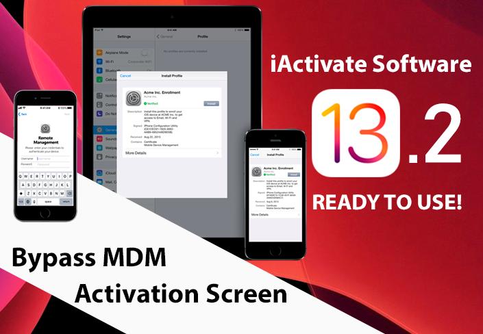 Bypass MDM iOS 13.2