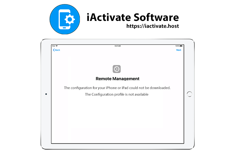 Apple DEP (Apple Remote Management) – Invalid Profile download