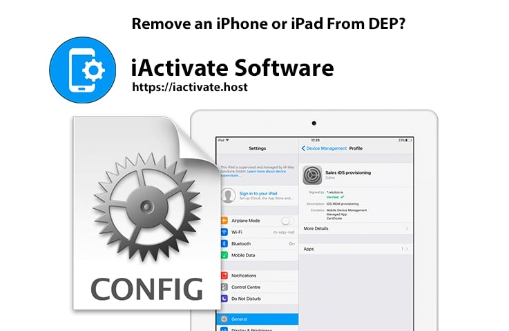 How to Remove an iPhone or iPad From DEP?