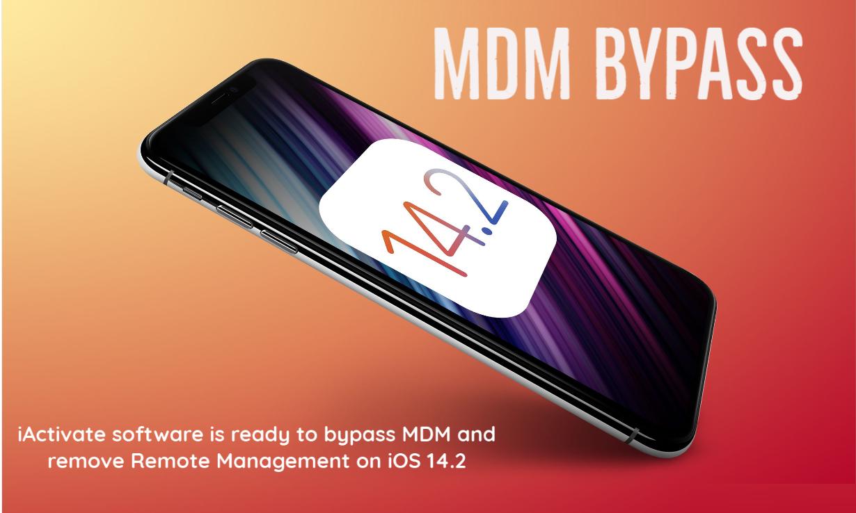 iOS 14.2 MDM Activation Lock Screen Bypass