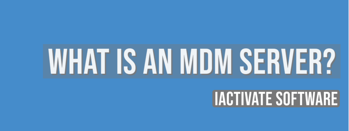 What is an MDM Server?