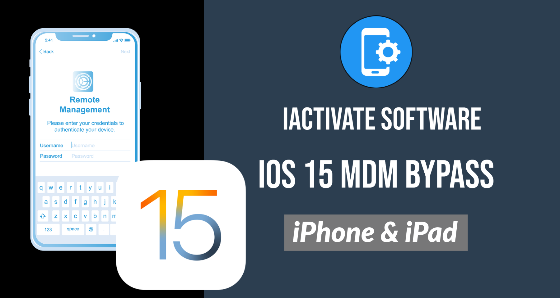 How to bypass iOS 15 MDM Activation Lock Screen?